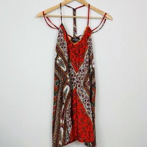 Angie Mini Dress Boho Festival Sundress